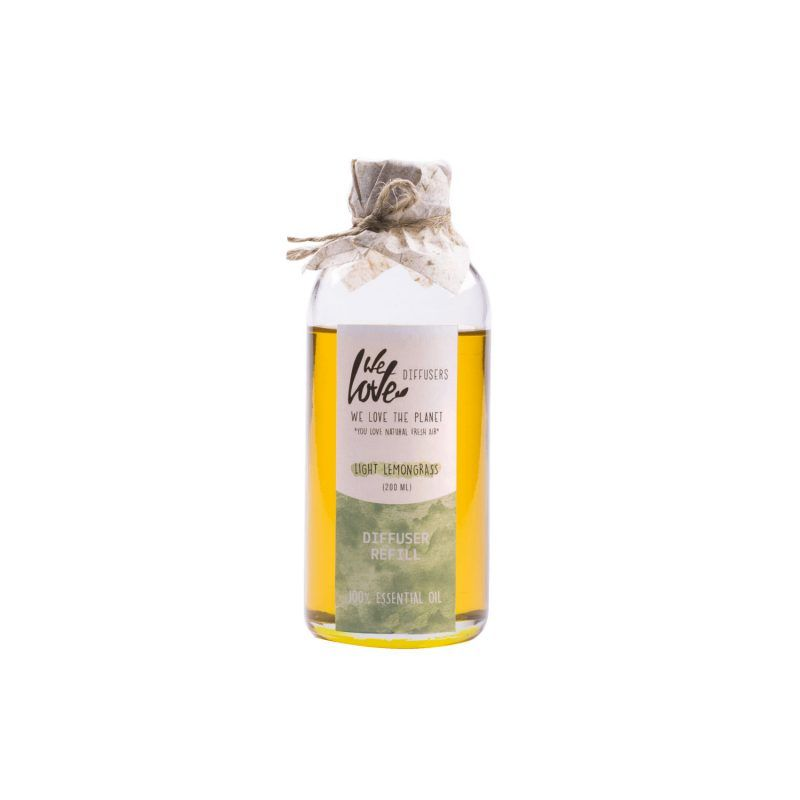 We love the planet diffusers refill light lemongrass