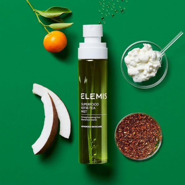 Superfood Kefir-Tea Mist ingredients